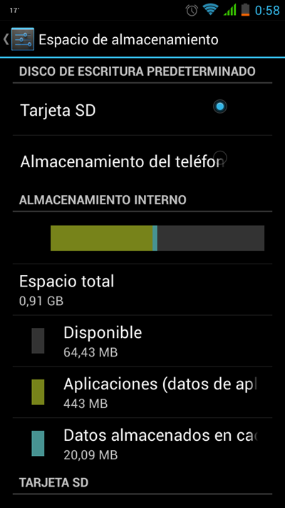 recuperación de Video Android
