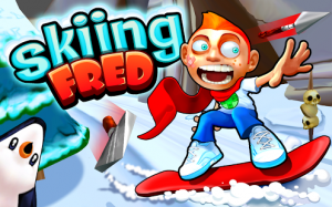 games on Android 2.3/2.2-Skiing Fred