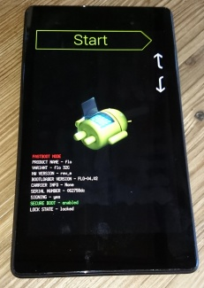 stuck at android system recovery