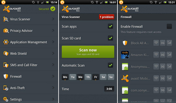 Top 2 Android Virus Remover