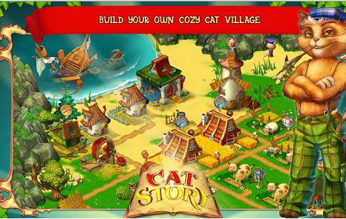 adventure games-Cat Story