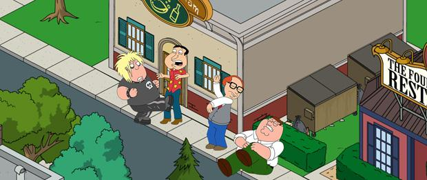 adventure games-Family Guy The Quest for Stuff