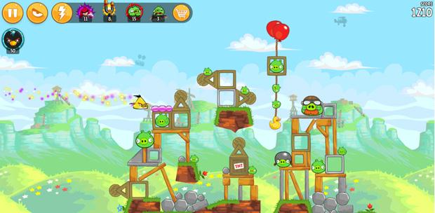 adventure games-Angry Birds