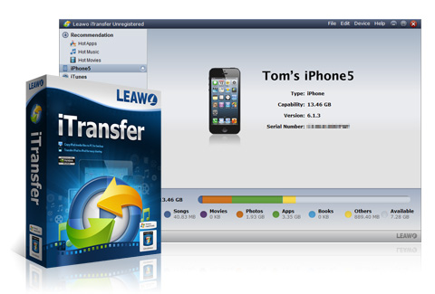 how to transfer Apps from iPad to iPad - Leawo iTransfer
