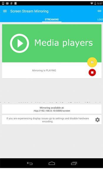 تطبيقات من اجل عرض شاشة الاندرويد الخاصة بك