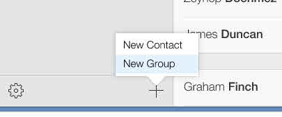 Best ways to send group messages with Android or iPhone-select New Group