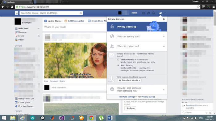 Block And Deactivate Facebook Messages On Facebook Com Dr Fone