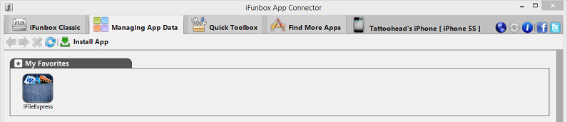 Install apps without iTunes-download the iFunbox