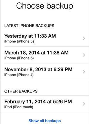 Mein iPhone stellt sich nicht wieder her