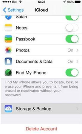 iPhone-Backup-Speicherort zum Löschen finden