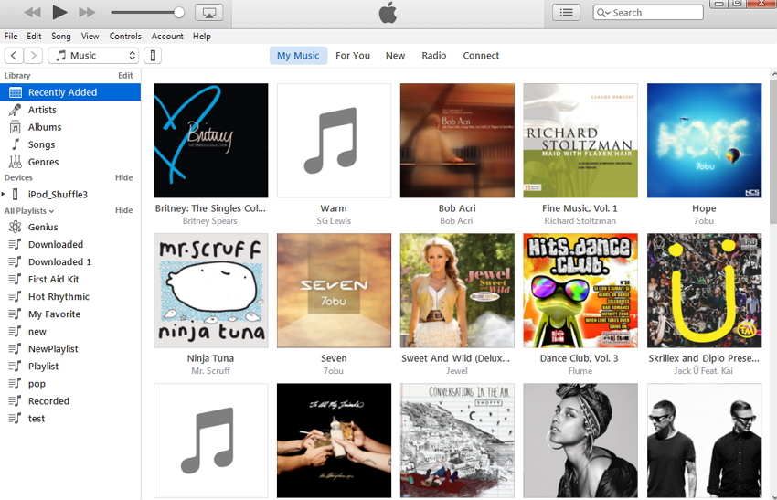 How to Transfer Music from iTunes to iPod Touch, iPod nano, iPod Shuffle