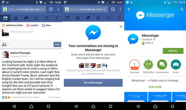 send facebook messages without messenger 01