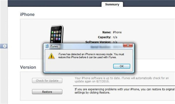 fix iphone error 3194