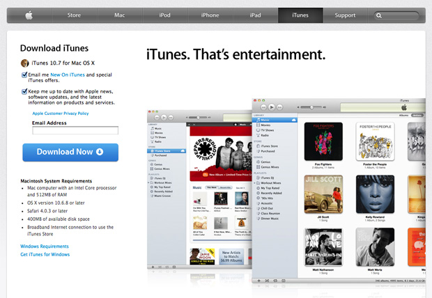 fix iTunes error 9