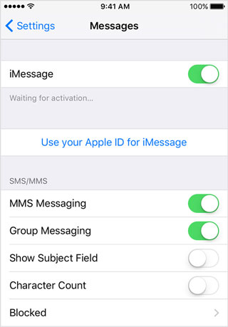 fix iPhone not sending or receiving text messages problems