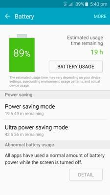Samsung Battery Manager