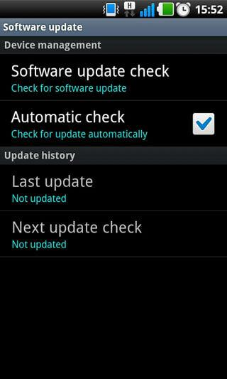 Samsung phone update software download.