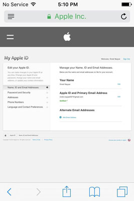 How to Change iCloud Apple ID