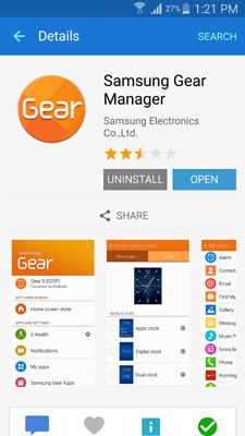 guide to samsung gear manager