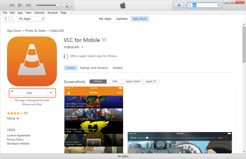 Tips for Using VLC for iPhone - Download VLC for iPhone to Computer
