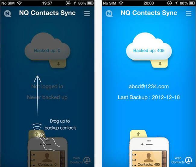 how to sync iphone contacts