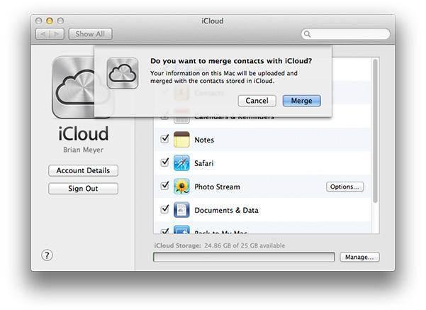 comment supprimer contacts sur icloud