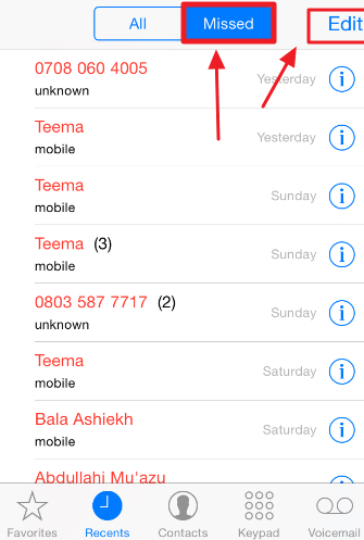 iphone call history how to permanently delete call history on iphone dr fone 3372