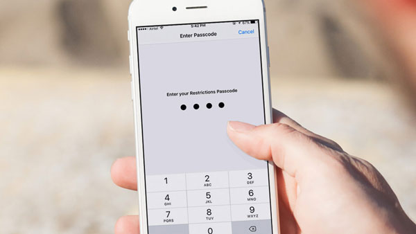 Comment réinitialiser les restrictions sur l'iphone