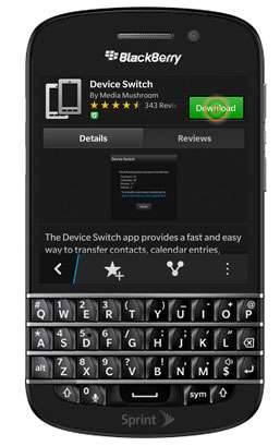 Transfer Data From Android To Blackberry 03
