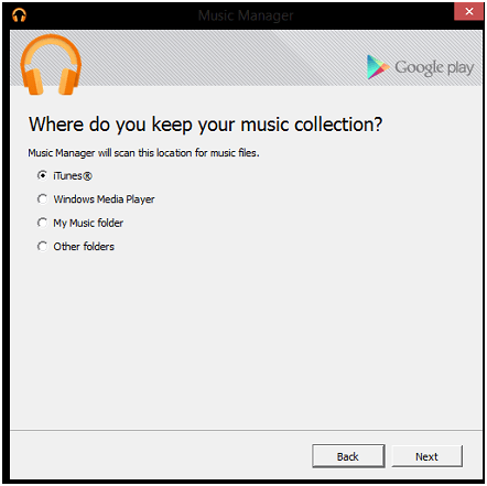 how to transfer music from iTunes to android-Select the iTunes