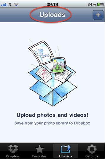 Using Dropbox to Transfer Videos from iPhone to Computer