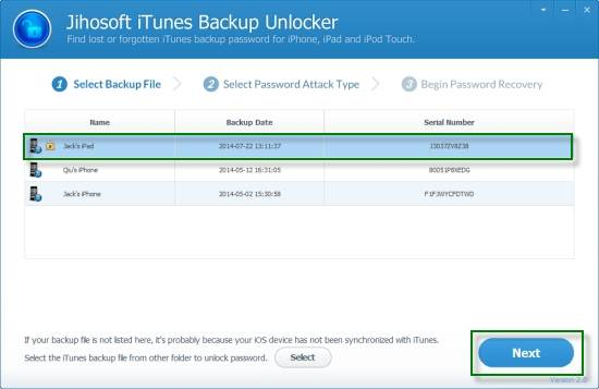 best iphone backup password recovery tool