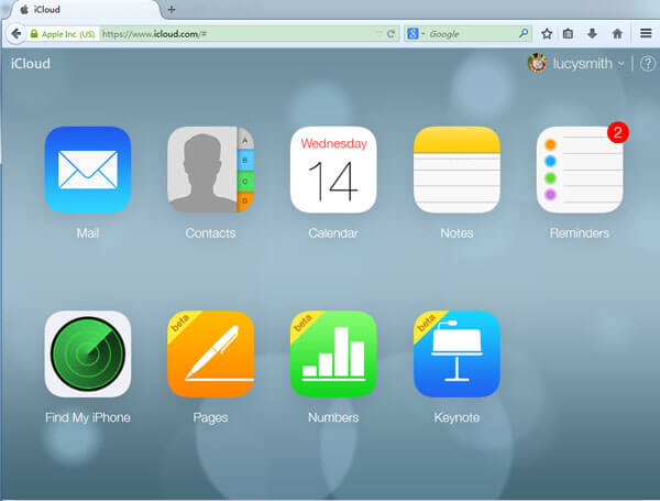 how to share documents on iCloud