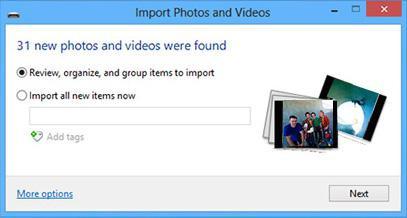 استيراد الصور من الهاتف إلى جهاز الكمبيوتر