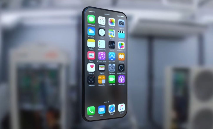 iphone 8 All-glass design
