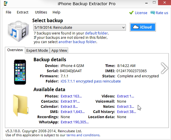 top iphone backup extractor-Recover from iPhone