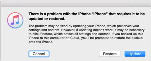 Wie Sie ein iPhone im Wiederherstellungsmodus reparieren