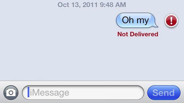 iPhone texting problems