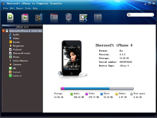 mobile trasferimento dati software-iPhonetoPC