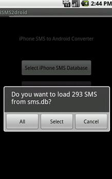 transfer text messages from iphone to android