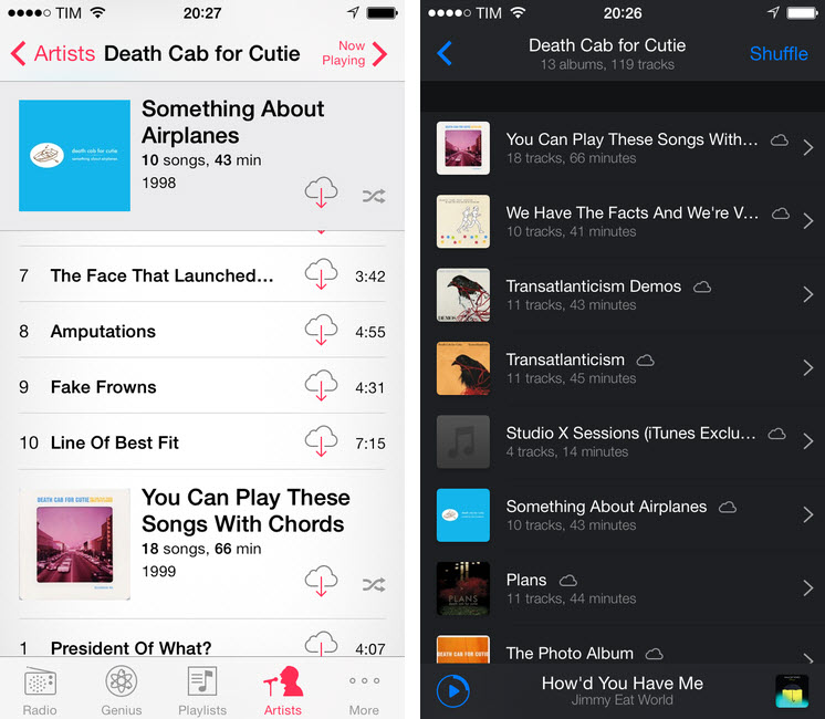 top 2 itunes alternatives to Play Music