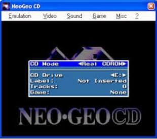 Neo Geo Emulators-NeoGeo CD Emulator- Windows