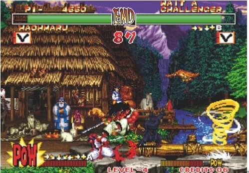 Neo Geo-Emulatoren-Samurai Shadow