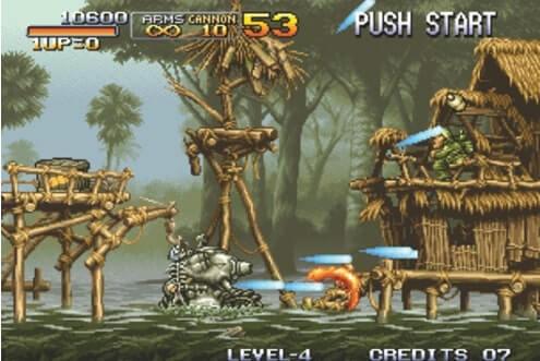 Neo Geo Emulators-Metal Slug