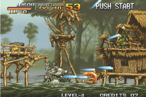 Neo Geo-Emulatoren-Metal Slug