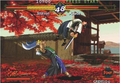 Neo Geo-Emulatoren-The last blade