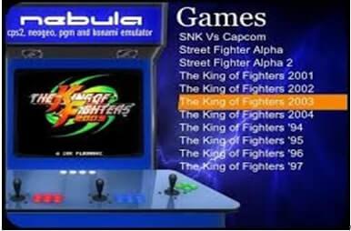 Neo Geo-Emulatoren-Nebula-Windows
