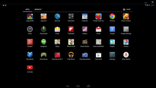 PC emulator for Android