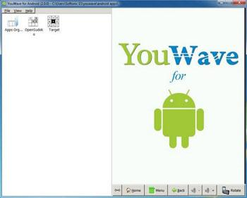 Android emulator Android mirror for pc mac windows Linux-YouWave