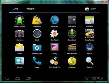 Android emulator Android mirror for pc mac windows Linux-Windroy 2